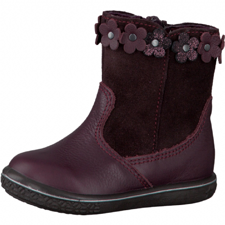 Ricosta SANJI Leather Boots (Blackberry)